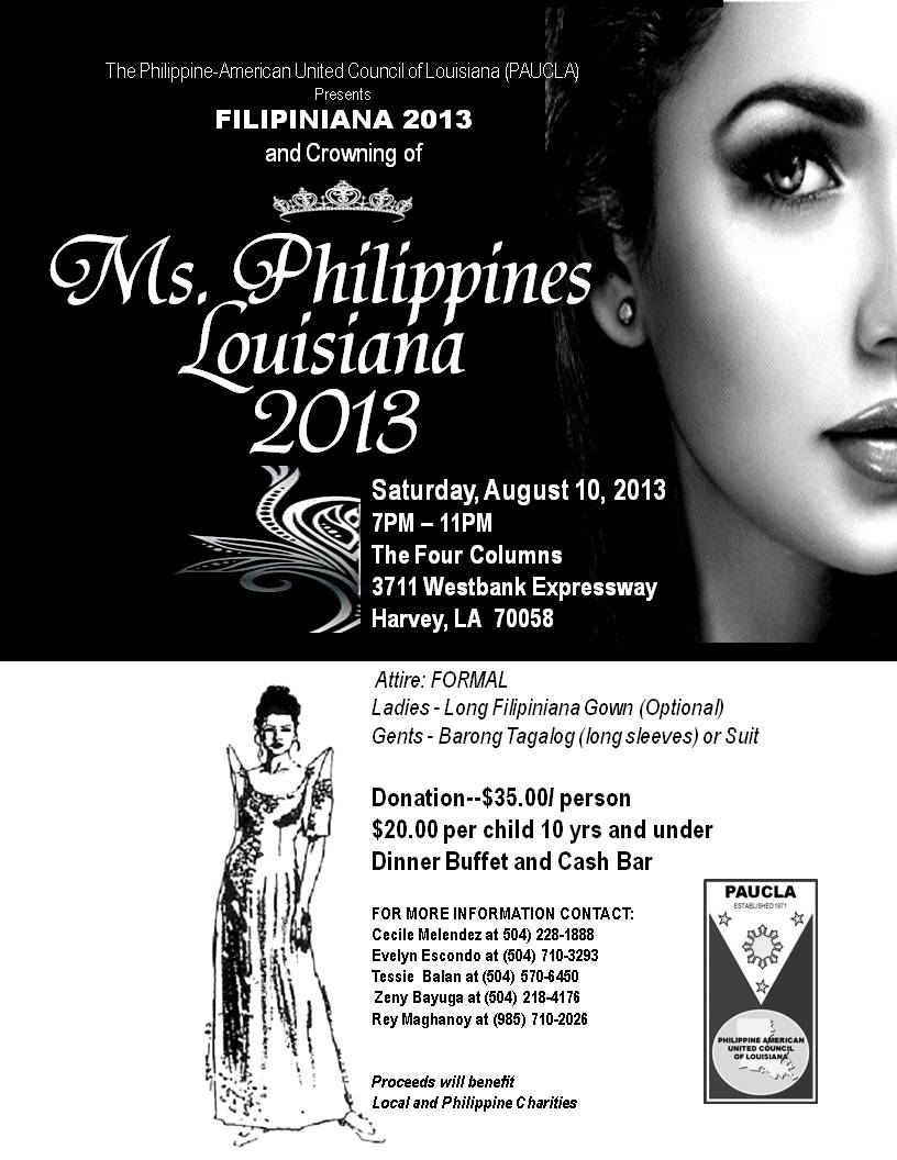 Ms. Philippines Louisiana 2013