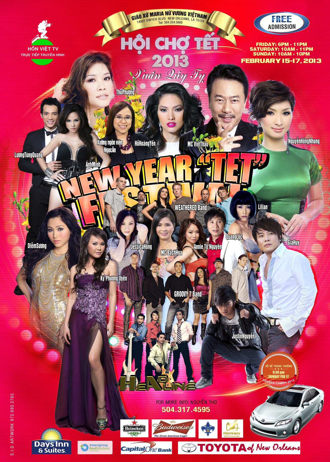 Vietnam New Year Party